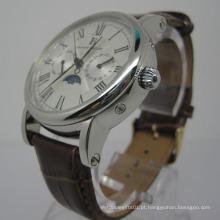 Relógio automático de aço inoxidável de alta qualidade