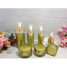 30ml eye shape acrylic lotion pump bottles