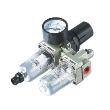 ESP pneumatics filter with pressure reducer, lubricator AC series air filter combination