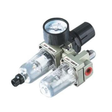 Filtro pneumático ESP com redutor de pressão, combinação do filtro de ar da série da CA do lubrificador