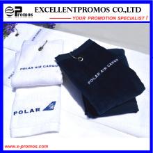 Toalha de golfe promocional de alta qualidade do algodão (EP-T58704)