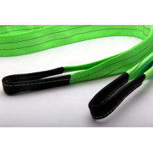 Green Color High Standard 2T Capacity Lift Sling
