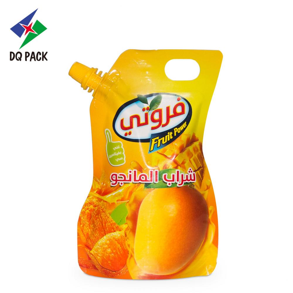 Plastic Packaging Bag with Spout