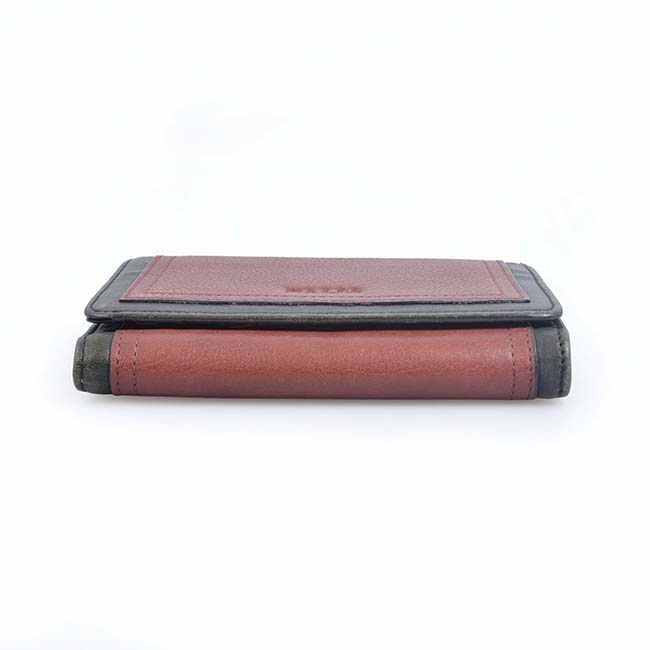 Women Wallet Short Leather Ladies Metal Designer Wallets for Women