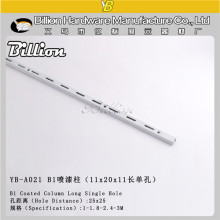 Single Hole Metal Slotted Channel