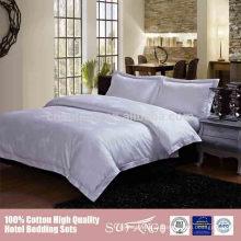 Roupa de cama do algodão do baixo preço do ODM para lares de idosos para a venda barato