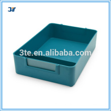 Optical plastic two stores display tray with high quality