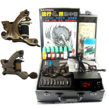 Professionelles Tattoo Kit Komplett mit 3 Pistolen / Power / Nadeln / Tinte