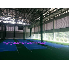 Maunsell International Suelo de PVC de alta calidad para Cricket Court Indoor / Outdoor