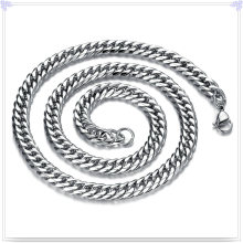 Collar de la manera de la joyería de la manera Cadena de acero inoxidable (SH065)