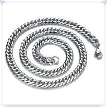 Moda jóias colar de moda corrente de aço inoxidável (sh065)