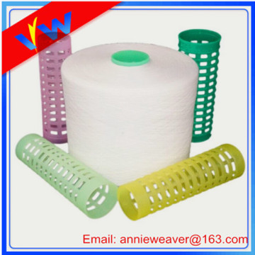 100% Spun Polyester Yarn 22/2 Semi Dull Heat Set