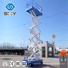Plataforma de elevación de tijera eléctrica hidráulica
