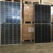 Trina Grade B /285W/monocrystalline half cell /black frame white panel/1 pallet 10 panels/ solar renew panel energy cell