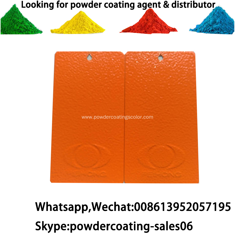 pure polyester electrostatic spray matt powder coating