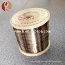 fabricación de hilo metálico de titanio de suministro de precio de fábrica en China