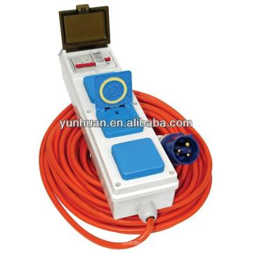 Red de cables de acoplamiento de alimentación llevar línea de construcción de cable de CA