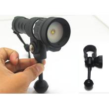 Hi-max photographie de plongée lumière led large faisceau 120 interrupteur magnétique lumière de plongée