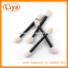 Different colors double sided eyeshadow applicator latex-free material free sample