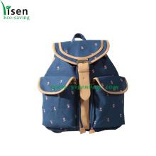 Special Canvas Backpack Bag, School Bags (YSBP03-0103)