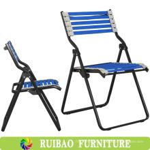 Silla plegable al aire libre del amortiguador auxiliar al aire libre del marco del metal de la venta en silla de la pesca