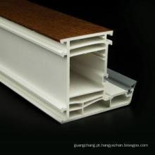 Perfis de PVC de 70mm