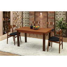 Rectangular Solid Wood Dining Table for Canton Fair (FOH-BCA67)
