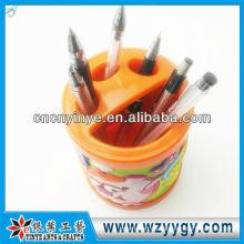 soporte cepillo de dientes plástico promocional / sostenedor de la pluma de pvc para niños