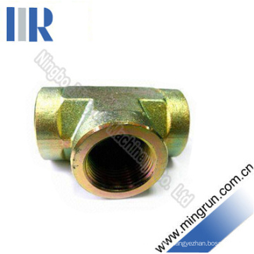 NPT Female Equal Tee Adapter Hydraulic Tube Fitting (GN-PK)