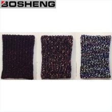 Unisex invierno cálida moda suave tejida bufanda de infinito