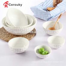 Tazones de cerámica hechos a medida grandes cuencos de cerámica