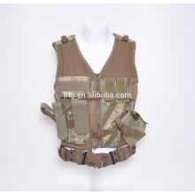 Chaleco a prueba de balas de seguridad de alta calidad de la chaqueta del ejército de la venta caliente