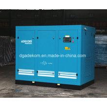Compresseur d'air à double vis VSD à économie d'énergie stationnaire (KF185L-4 INV)