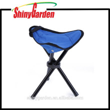 Folding Portable Tripod Stool, Tri-Leg Stool for Outdoor Camping/Fishing/Hiking/Mountaineering