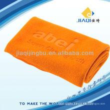 logo embossing microfiber towel