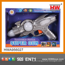 New 43CM Plastic Electric Kid Space Gun Toy