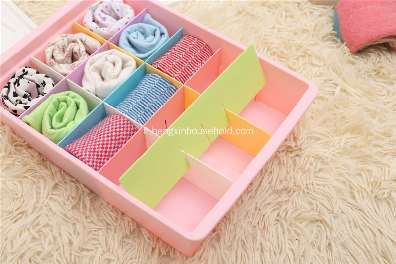 Plus nouveau style Sock Organizer Drawer Divider