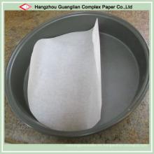 Rondas de papel de pergamino de silicona para tarteras de pizza Tarteras de pie de tarta