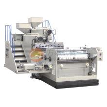 1000mm Zwei Extruder PE Casting Film Maschine