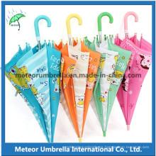 Paraguas de dibujos animados Kid niños para niños y niñas