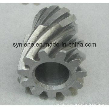 Engranaje de forja de aleación de acero con mecanizado CNC