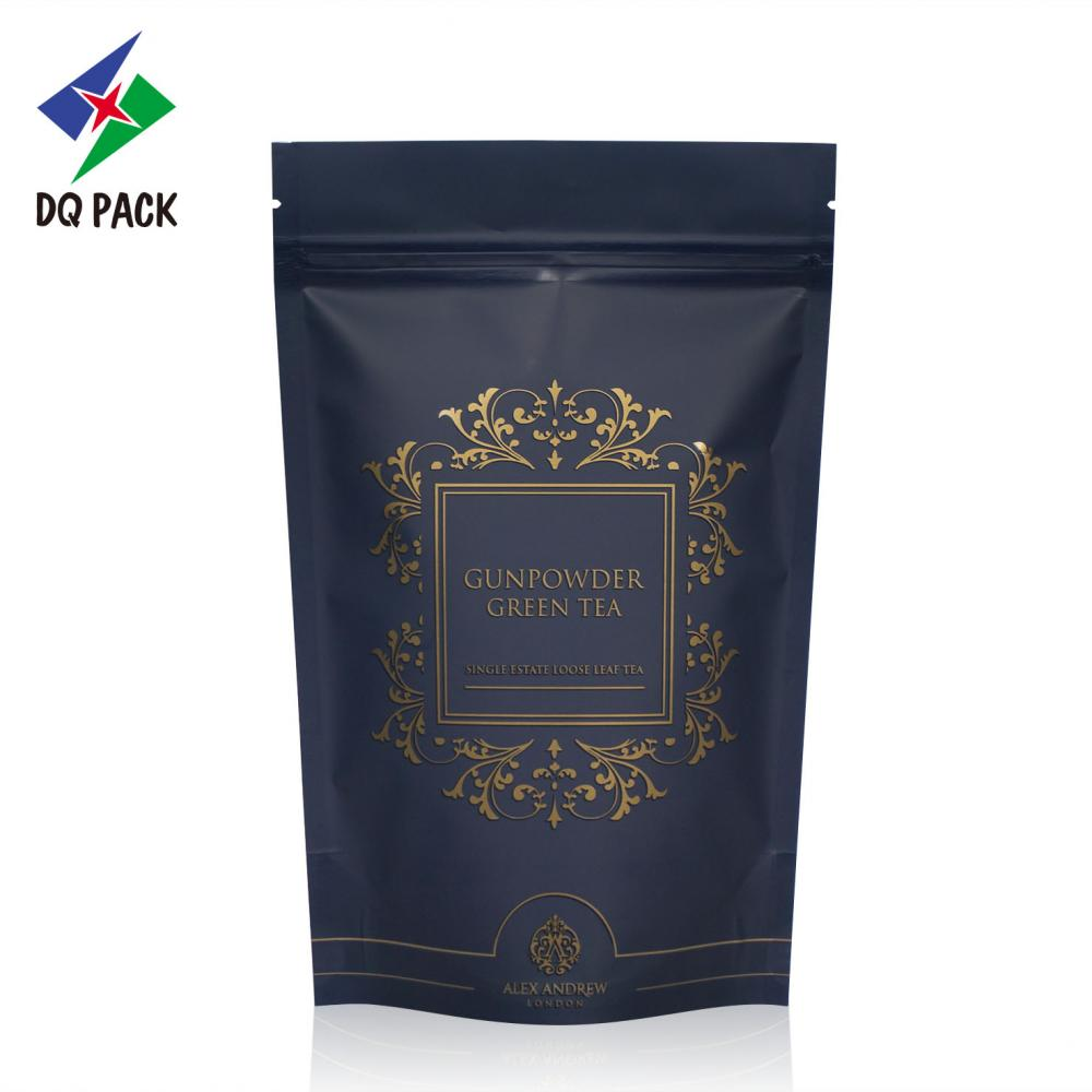 Tea stand up packaging bag