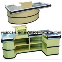 Store Supermarket Automatic Conveyor Belt Cashier Checkout Counter
