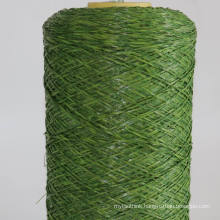 M shape straight & curly garden artificial grass yarn