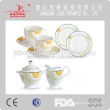 bone china ceramic coffee tea set cup saucer mugs golden bone china coffee cup printing machine