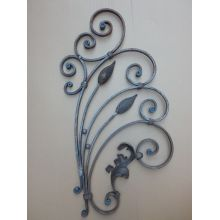 China OEM for Black Coated Wrought Iron Fence, Ornamental Wrought Iron Products, Wrought Iron Gate, Wrought Iron Fence, Wrought Iron Railings Leading Supplier In China Wrought Iron Component Parts supply to France Manufacturers