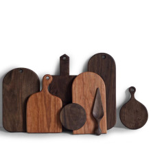 Tábua de corte Bandeja de serviço de madeira para cozinha Tábuas de corte