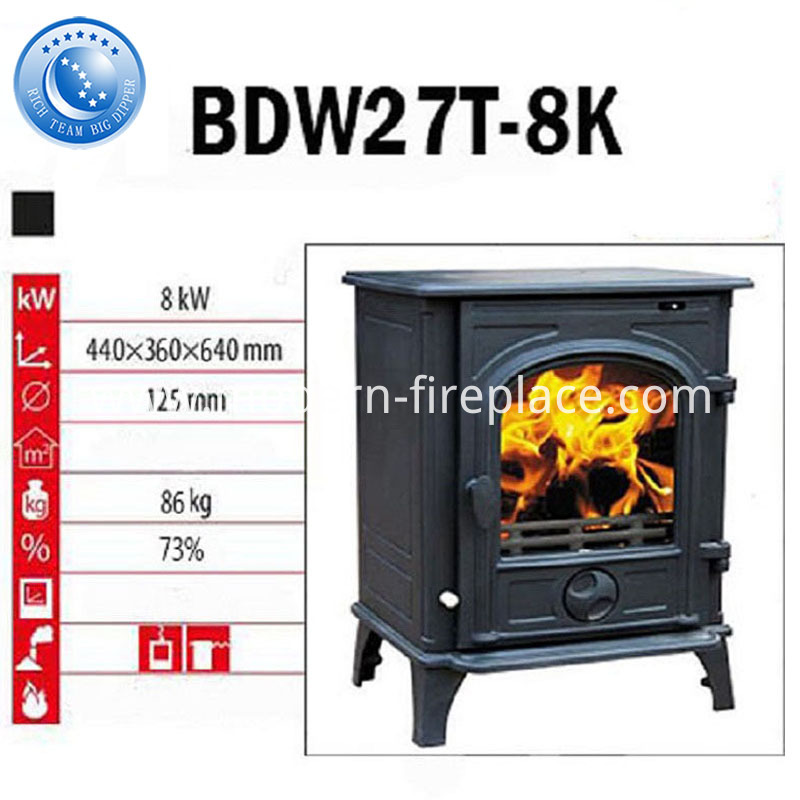 Conservatory Airtight Wood Stove Fireplace Factory