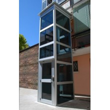Outdoor glass cheap residential home elevator lift