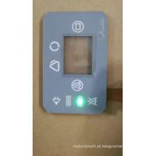 Interruptor de membrana feito sob encomenda do diodo emissor de luz com função impermeável